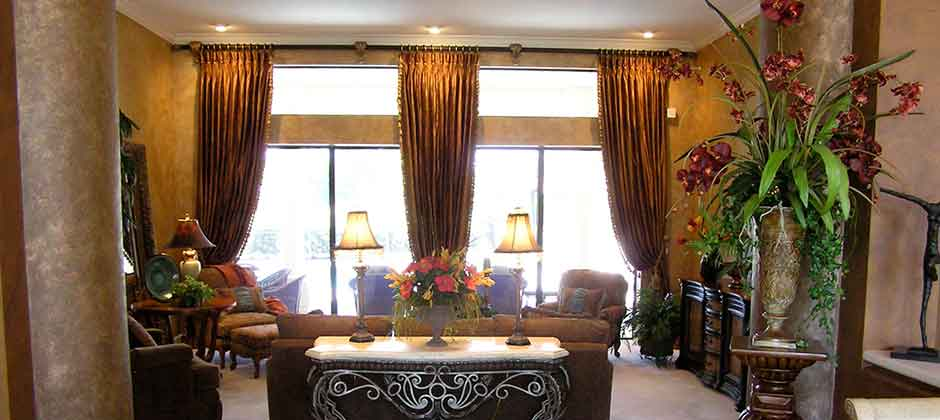 artfully designed window treatments interiors for the tampa bay area