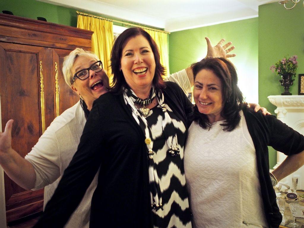 Veronika Miller, Anne Lubner & Tamara Mathews Stephenson